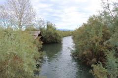 La valle vista dall'area di Casa Spina